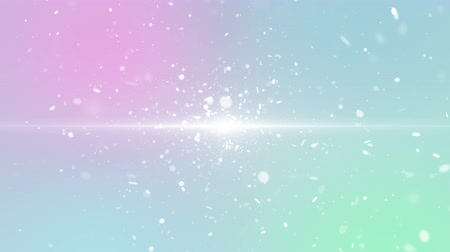 christmas party : Particles pastel color business clean bright glitter bokeh dust abstract background loop
