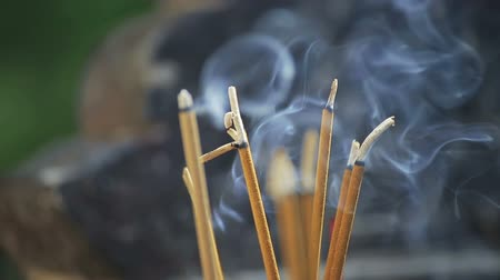 myrrh : Incense sticks in the temple