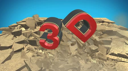 rachaduras : 3D text crush