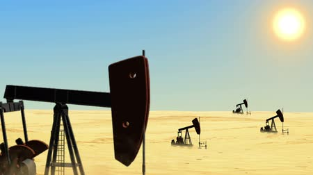 pompki : Oil wells in the desert