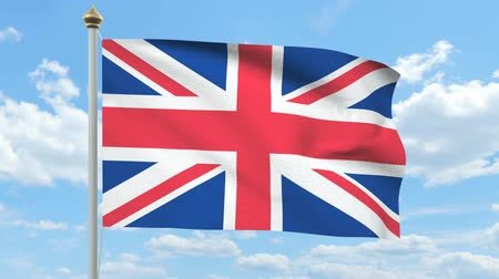 unie : British flag waving