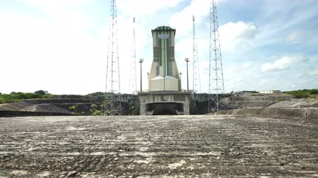 aeroespaço : The Soyuz launch area for at Guiana Space Center