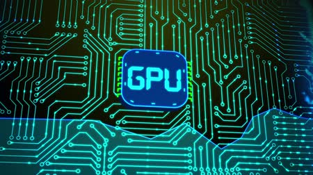 integrovaný : Microchip CPU Processor Turning On