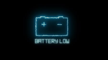 mutató : Low battery symbol