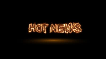 faerie : Hot news, fire animation