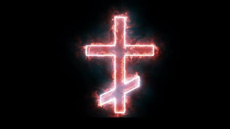 buring : Burning Cross - Celtic Cross Burning in Flames