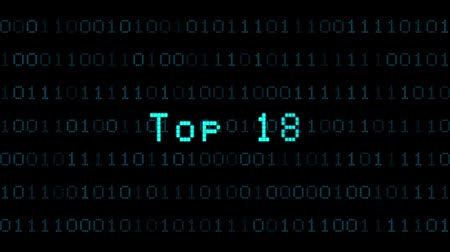 top ten : Top 10, digital animation, blue computing operation