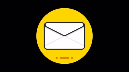 e mail address : Mail Premium icon with alpha Flat design style
