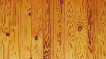 Wood background. Pine wood texture. The camera moves from left to right
