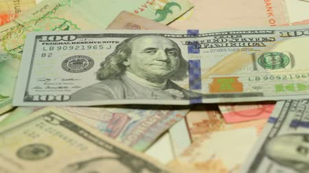 odlišný : Paper money of different countries