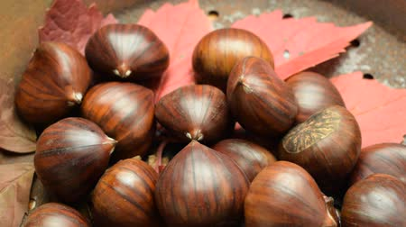 Uncooked chestnuts