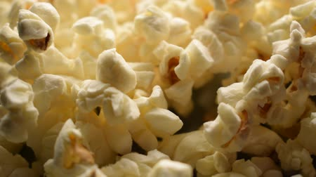 Close up of cooked popcorn