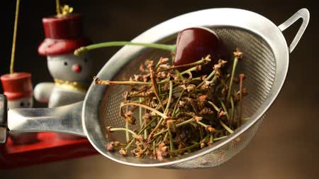 dry stalks : Herbal tea with cherry stalks