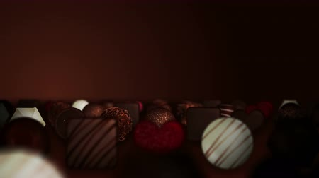 pralina : Valentines day, An assortment of fine chocolates, Loop