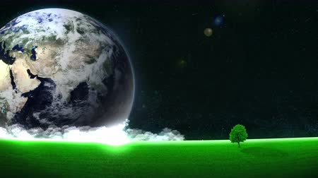 eko : Energy Saving, Eco, Earth Animation, Loop, green