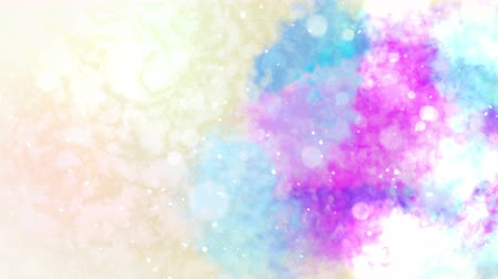 yellow ink : Watercolor colorful splatter, Abstract ink background, Loop CG Animation,