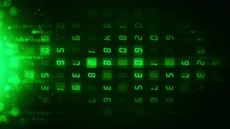 proměna : Many Numbers Background Business CG animation, Loop