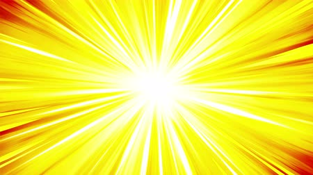 ripetizione : Cartoon beam animation. Shiny sun background. Sunburst rays in heaven. Abstract loop design.