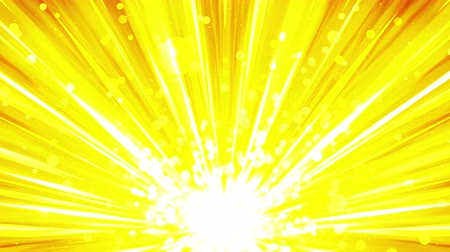 heavenly : Cartoon beam animation. Shiny sun background. Sunburst rays in heaven. Abstract loop design.