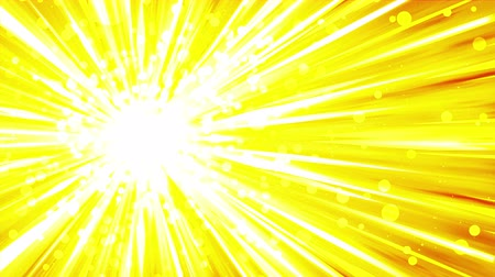 god ray : Cartoon beam animation. Shiny sun background. Sunburst rays in heaven. Abstract loop design.