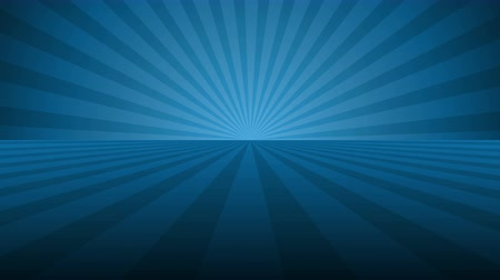 vacant : Rotating blue radial rays. Shiny background with ray of light. Blue abstract space. Stock Footage