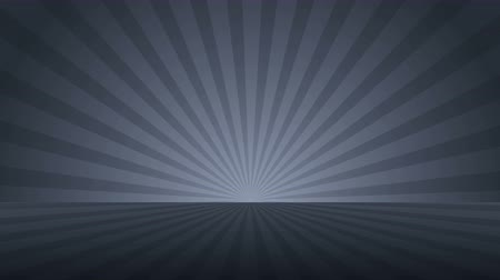 vacant : Rotating monochrome radial rays. Shiny background with ray of light. Gray abstract space. Stock Footage
