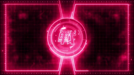 comparar : Futuristic sports game loop animation. Versus fight fight background. Radar neon display. Chinese character fight. Japanese letter element. Game control.