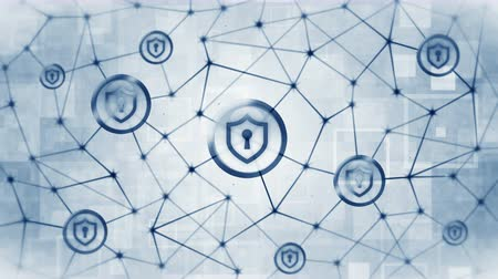 privacy : Shield security with safety lock icon. Internet connection. Firewall,Password,Protection. Privacy sign floating. Polygonal Space with Connecting Dots and Lines. Wireframe polygon and icon.
