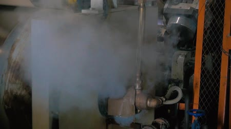 steam pipe breakthrough Stock Footage