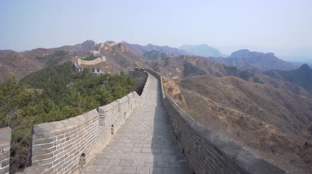 4k colpo in aumento di Jinshanling Great Wall