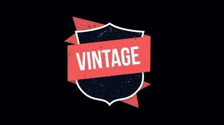odznaka : beautiful badge , web element  , vintage Wideo