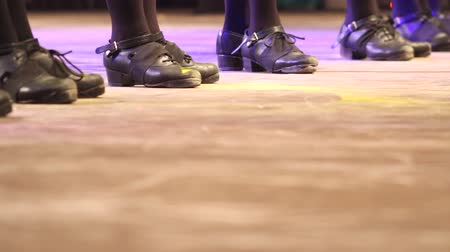 footgear : Irish dance on stage people dancing at folk festivals
