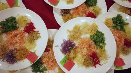 servet : Yee Sang, a Chinese new year celebration dish