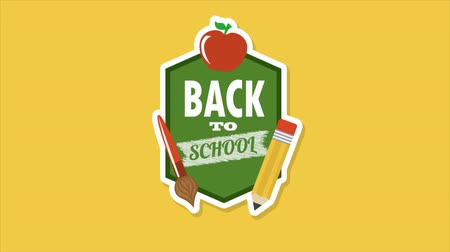 educar : Back to school video animation