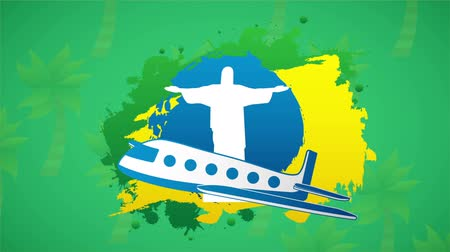 brasil : Travel to brazil, Video animation, HD 1080