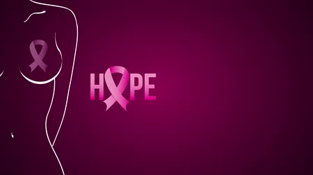rak : Breast cancer fight, Video animation, HD 1080