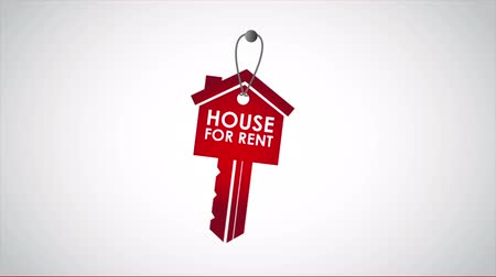 аренда : House for rent key, Video animation, HD 1080