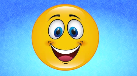 emoticon : Happy face deign, video animation, HD 1080