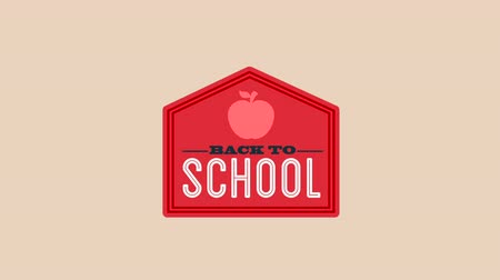 okula geri : Back to school design, Video Animation HD1080