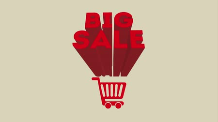 add to cart : Big sale design, Video Animation HD1080 Stock Footage