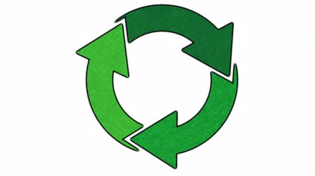 reutilização : Recycle icon design, Video Animation