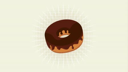 doughnut : bakery shop design, Video Animation