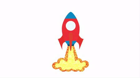 rakieta : Rocket icon design, Video Animation