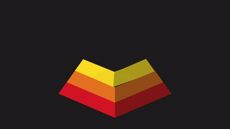piramit : Pyramid icon design, Video animation
