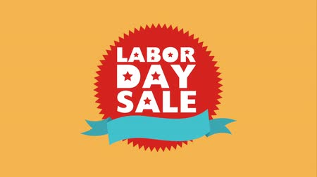 emek : Labor day sale design, Video Animation