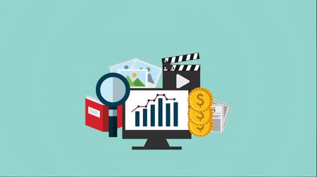 seo : search engine optimization design, Video Animation Stock Footage