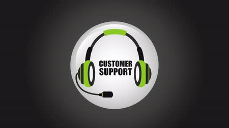 desteklemek : Customer support icon design, Video Animation