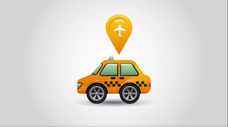 штифт : taxi service design, Video Animation