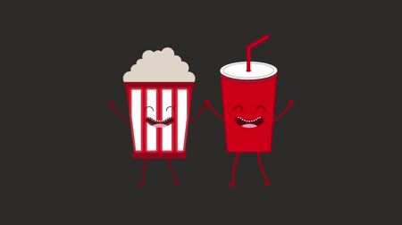 karikatury : Animated cinema food design, Video Animation