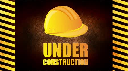 alatt : Under construction background, Video Animation
